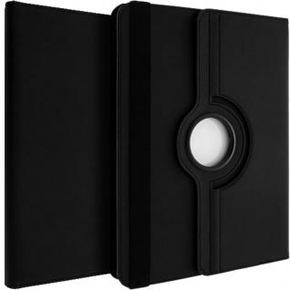 First Class Flip-Schutzhülle+drehbare Standfunktion für 10'' Tablets - Schwarz
