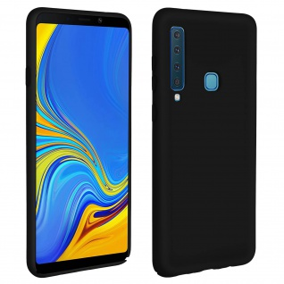 Samsung Galaxy A9 2018 Soft Touch kratzfeste Silikonhülle, soft case - Schwarz