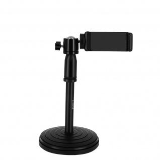 Desktop-Smartphone Ständer höhenverstellbar, LinQ â€? Schwarz
