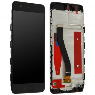 LCD Komplettset mit Touchscreen für Huawei P10 - Schwarz