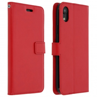 Flip Stand Cover Brieftasche & Standfunktion Apple iPhone XR - Rot 1