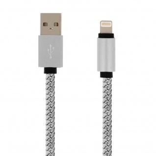 iPhone/iPad/USB-Kabel Silber - Moxie - Aufladen & Synchronisierung