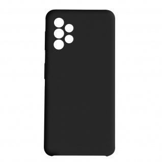 Venus Series halbsteife Soft-Touch Silikonhülle Samsung A52 / A52 5G ? Schwarz
