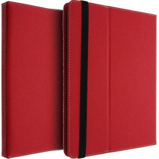 Universal Flip-Schutzhülle für 10'' Tablets mit Griff & Standfunktion ? Rot
