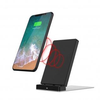 Induktionsladegerät Smartphone/Tablet Schnellladegerät, Inkax - Schwarz