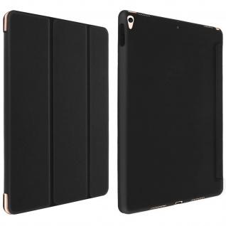 Trifold Klapphülle + Standfunktion für iPad Air 2019 /iPad Pro 10.5 - Schwarz