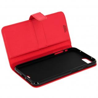 Flip-Schutzhülle mit Standfunktion für Apple iPhone 7 Plus, 8 Plus - Rot