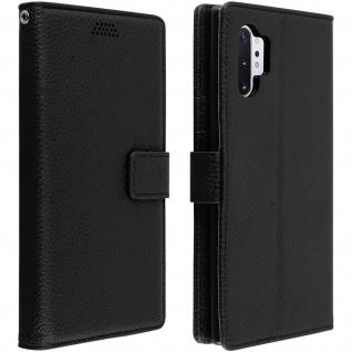 Samsung Galaxy Note 10 Plus Cover mit Kartenfächern & Standfunktion â€? Schwarz