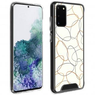 Stoßfeste Handyhülle für Galaxy S20, Made in France ? Gekritzel Design