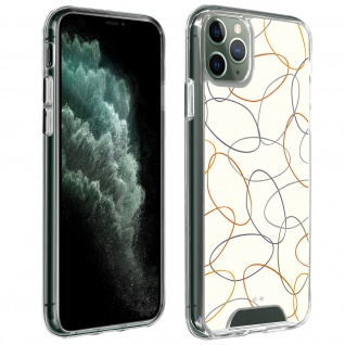 Handyhülle für iPhone 11 Pro, Made in France ? Gekritzel Design