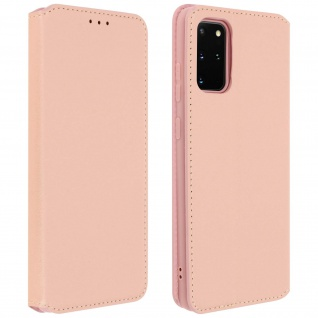 Kunstleder Cover Classic Edition Samsung Galaxy S20 Plus - Rosa