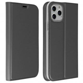 Flip Cover, Klappetui mit Kartenfach & Standfunktion Apple iPhone 11 Pro - Grau