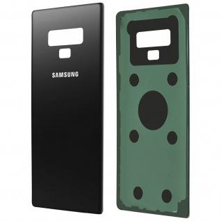Ersatzteil Akkudeckel, neue Rückseite für Samsung Galaxy Note 9 - Schwarz - Vorschau 2