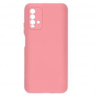 Halbsteife Silikon Handyhülle für Xiaomi Redmi 9T, Soft Touch ? Rosa