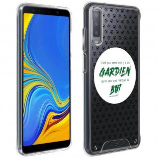 Handyhülle für Samsung Galaxy A7 2018, Made in France ? Torhüter Design