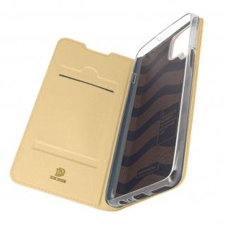 Klappetui mit Kartenfach & Standfunktion Samsung Galaxy A12 ? Gold
