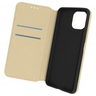 Kunstleder Cover Classic Edition, Klappetui für Xiaomi Mi 11 Lite ? Gold