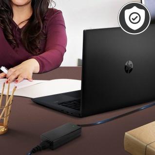 HP-4530 Laptop Netzteil 65W/19.5V 3.33A 4.5*3.0 mm Stecker by LinQ - Schwarz - Vorschau 3