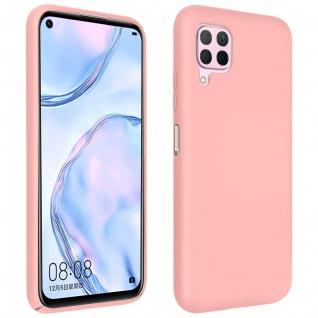 Halbsteife Silikon Handyhülle Huawei P40 Lite, Soft Touch - Rosa