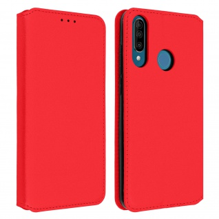Kunstleder Cover Classic Edition Wiko View 3 - Rot