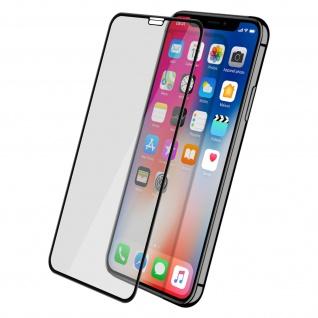 Displayschutzfolie, 9H 11D Schutzfolie für Apple iPhone X / XS Schwarz