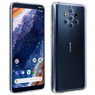 Original Nokia Schutzhülle für Nokia 9 Pureview, dünne Hülle - Transparent