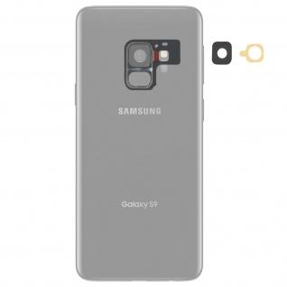 Kamera Linse für Rück-Kamera Samsung Galaxy S9 Plus - Schwarz - Vorschau 2