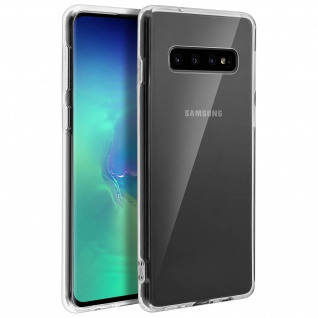 Crystal Schutzhülle + Bumper cover für Samsung Galaxy S10 - Transparent
