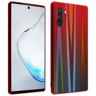 Aurora Series holografische Handyhülle Samsung Galaxy Note 10 Plus - Rot
