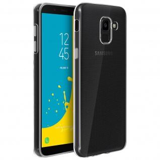 Samsung Galaxy J6 Schutzhülle Silikon ultradünn (0.30mm) ? Transparent