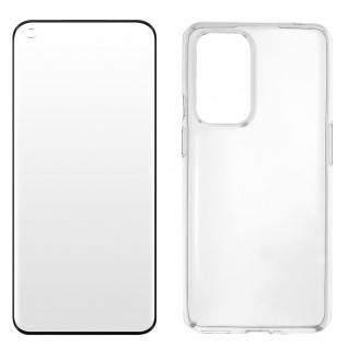 360° Protection Pack für OnePlus 9: Cover + Displayschutzfolie