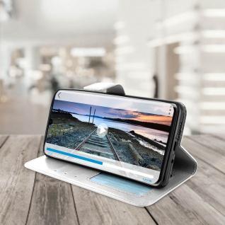 Flip Stand Cover Brieftasche & Standfunktion für Huawei P30 Pro - Weiß - Vorschau 4