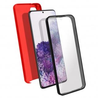 Schutzhülle für Samsung Galaxy S20, Vorder- + Rückseite ? Rot