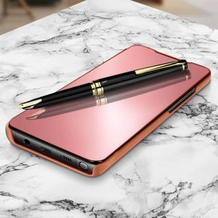 Mirror Klapphülle, Spiegelhülle für Samsung Galaxy Note 10 Lite - Rosegold - Vorschau 2