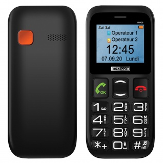 Senior Handy Dual Sim SOS-Taste 600mAh Akkukapazität, MM426 Maxcom ? Schwarz