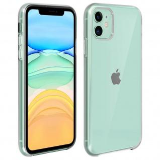 Halbsteife durchsichtige Handyhülle Apple iPhone 11 - Transparent