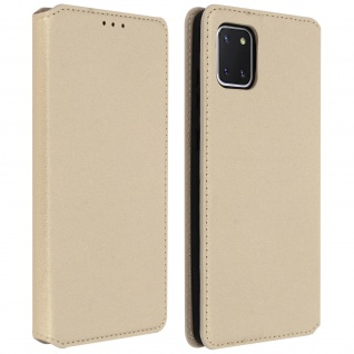 Kunstleder Cover Classic Edition Samsung Galaxy Note 10 Lite - Gold
