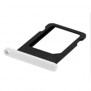 Nano-Sim-Ersatz-Kartenhalter für iPhone 5C Weiß - Vorschau 3