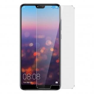 4Smarts - Displayschutzfolie gehärtetes Glas 9H Härtegrad für Huawei P20 Pro