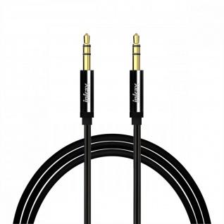 Audiokabel Männlich-Männlich 3.5mm Klinkenstecker, guter Ton, 1M Inkax-Schwarz