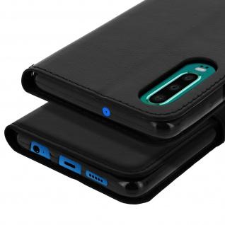 Flip Stand Cover Brieftasche & Standfunktion für Huawei P30 - Schwarz - Vorschau 5