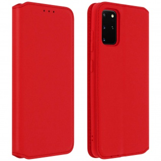 Kunstleder Cover Classic Edition Samsung Galaxy S20 Plus - Rot