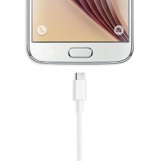 USB-Typ C auf USB Ladekabel (Aufladen und Synchronisierung) - 2Meter - Weiß - Vorschau 5