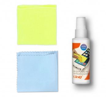 Reinigungsspray + Mikrofasertuch by LinQ ? Weiß