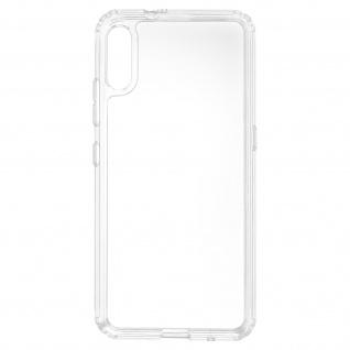 LG K22 Crystal Case, Backcover mit stoßfestem Bumper â€? Transparent