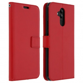 Flip Stand Cover Brieftasche & Standfunktion Huawei Mate 20 lite - Rot