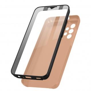 Schutzhülle für Samsung Galaxy A32, Vorder- + Rückseite ? Rosegold