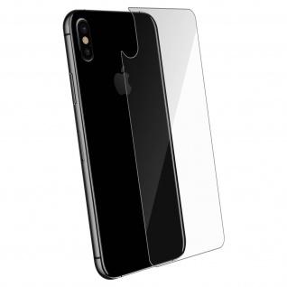 Rückseite Schutzfolie Apple iPhone XS/X, 2.5D voller Schutz - Transparent