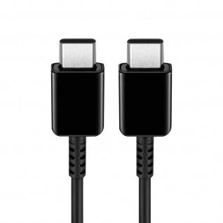 Original Samsung EP-DG977BWE USB-C / USB-C Schnellladekabel, 1m lang - Schwarz