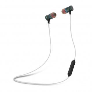 Vibe magnetische in-ear Kopfhörer mit Fernbedienung & Mikrofon - Schwarz/Grau
